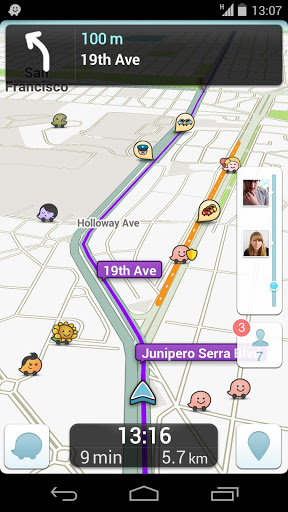 Waze 3.8 Android