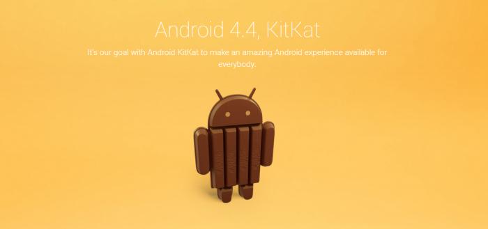 Android 4.4.4 onverwacht uitgebracht