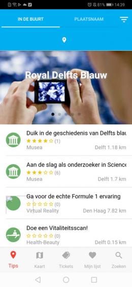 Dagjeweg app