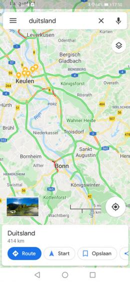 Google Maps Duitsland
