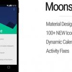 Moonshine 1.6 brengt 100 nieuwe icoontjes in Android L-stijl