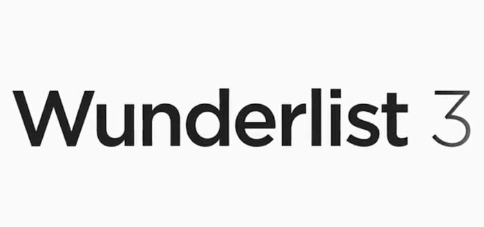 Wunderlist 3 in aantocht, preview laat nieuwe interface zien