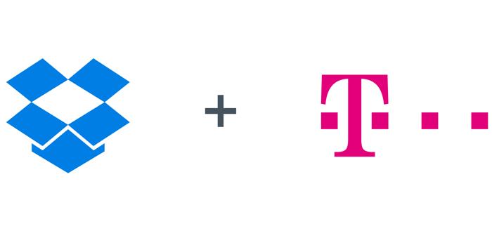 T-Mobile voorziet toestellen standaard van Dropbox-app