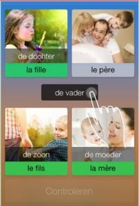 Frans leren spreken app