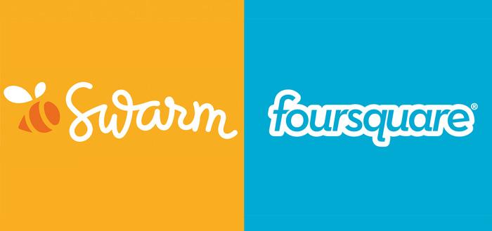 Foursquare verwijdert functie voor inchecken uit applicatie