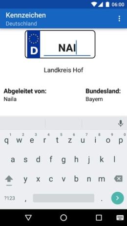 Kennzeichen deutschland app