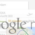 Google Now laat spraakinvoer corrigeren