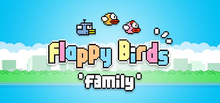 Ontwikkelaar brengt Flappy Bird terug onder de naam Flappy Birds Family