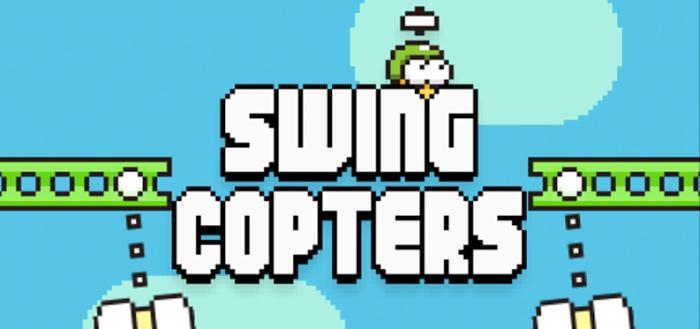 Swing Copters: nieuwe game van Flappy Bird-ontwikkelaar in Play Store