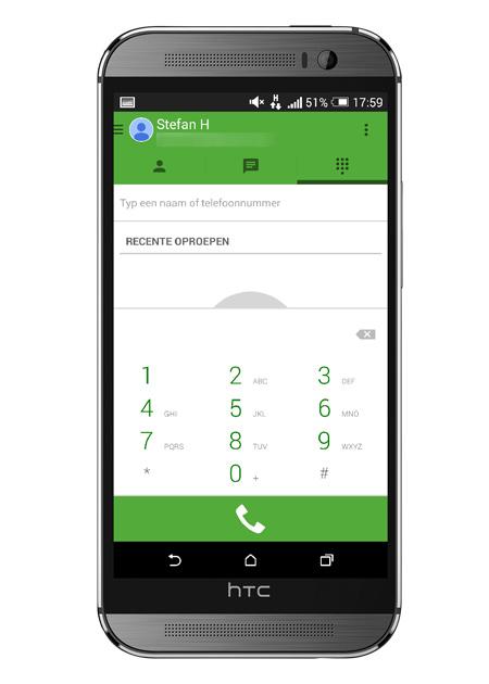 Google Hangouts 2.3 Dialer