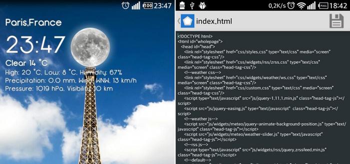 HTMLauncher laat iedereen een eigen launcher bouwen