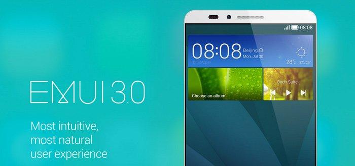 Huawei EMUI 3.0 update komt ook naar oudere toestellen