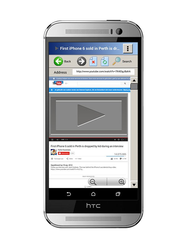 Internet Explorer 6 Android