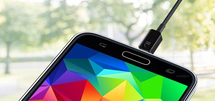 Samsung Power Sharing Cable: gebruik je Galaxy als stopcontact