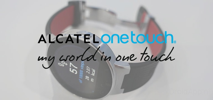 Alcatel One Touch komt met eigen wearable