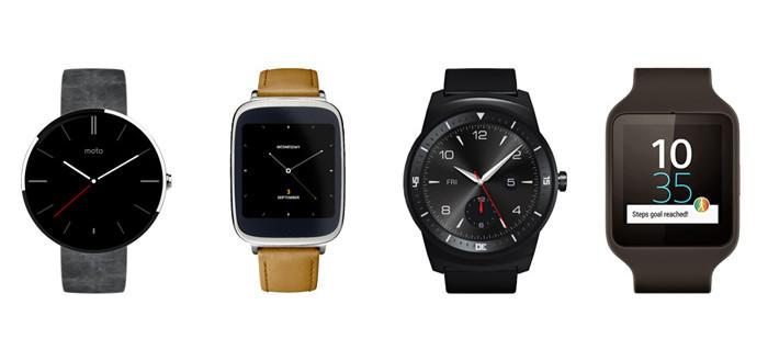Android Wear bereikt mijlpaal van 1.000 watchfaces