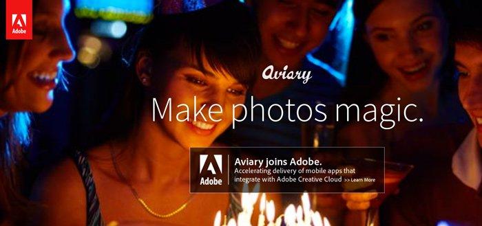 Fotobewerker 'Aviary' overgenomen door Adobe