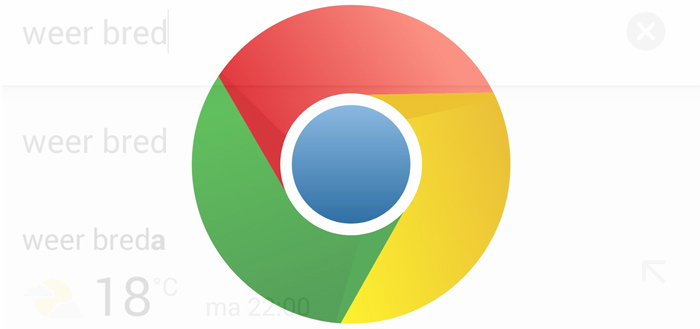 Chrome 42 laatste browser-update voor Ice Cream Sandwich