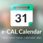 Update voor e-CAL Kalender: meer Material Design