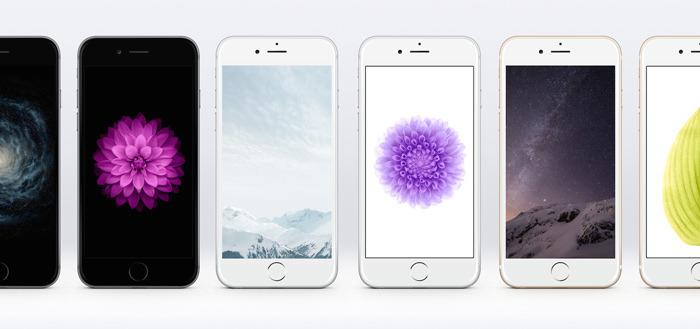 iPhone 6 wallpapers uit iOS8 beschikbaar voor je Android-toestel