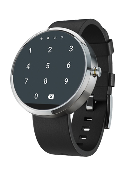 lockable android wear