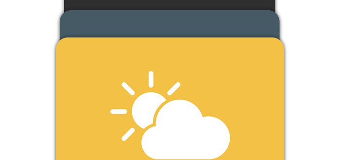 Weather Timeline krijgt Material Design update