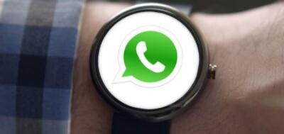 WhatsApp foto's nu ook te bekijken op Wearable