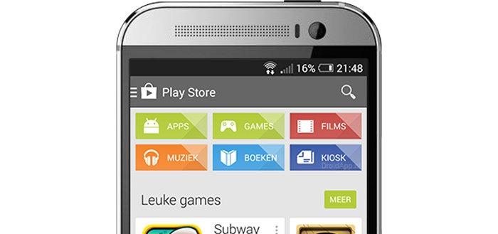 Google test wijzigingen in vormgeving Play Store