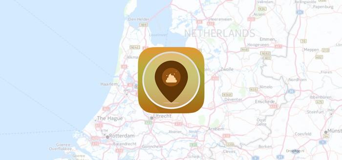 Doelloos: Places I've Pooped; Foursquare voor de kakdoos