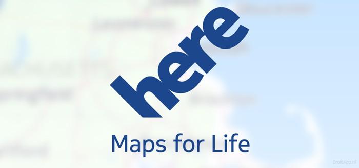 Gratis navigatie-app HERE telt 5 miljoen downloads