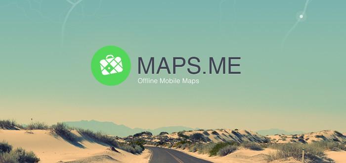 Maps.me: offline kaartlezen en zonder navigatie (review)
