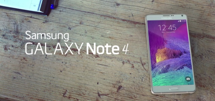 Samsung Galaxy Note 4 onder de hamer