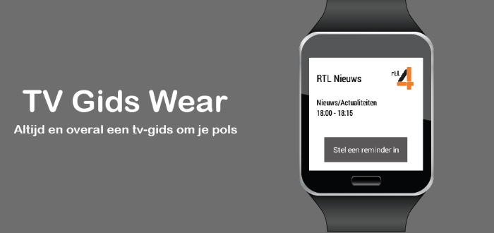 TV Gids Wear: de TV Gids om je pols