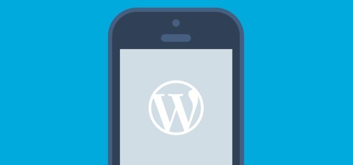 WordPress 3.2 laat je swipen door je foto's