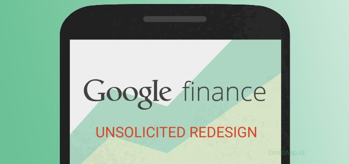 Google Finance app krijgt Material Design update