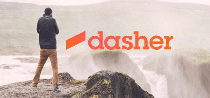 Dasher: slimme messaging applicatie met potentie