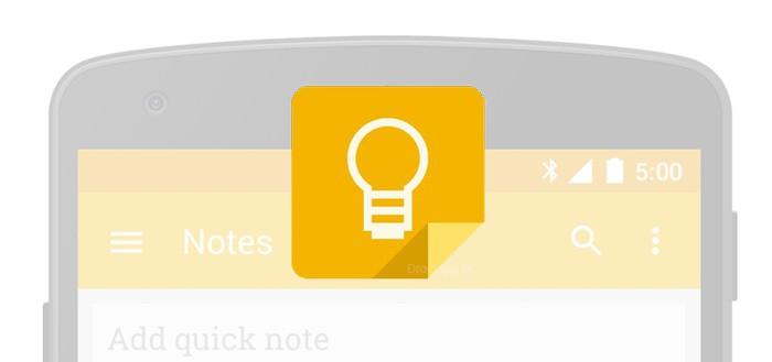 Google Keep 3.2.435 laat je tekeningen maken op en bij notities