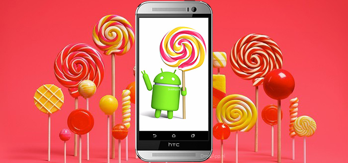 'HTC One M8 krijgt 3 januari update Android 5.0 Lollipop'