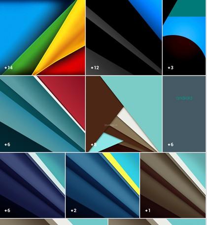 wallpapers material design