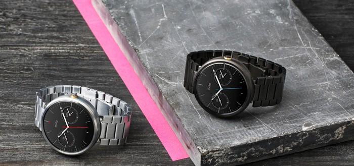 Moto 360 geïntroduceerd met metalen armband, Moto Body en nieuwe watchfaces