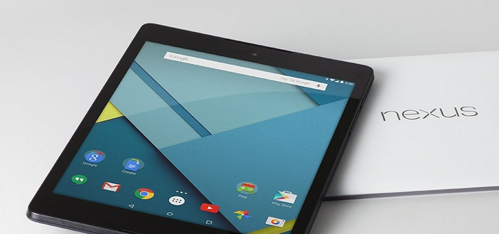 HTC repareert inferieure knoppen Nexus 9