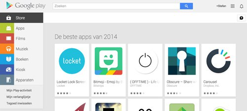 Play Store 2014