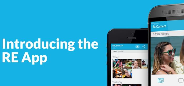HTC RE app uitgebracht in Google Play Store