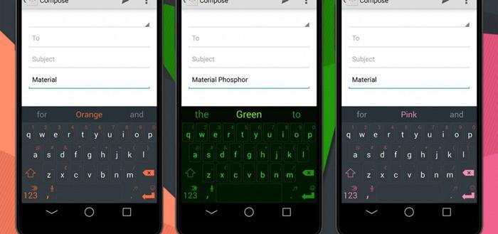 SwiftKey voegt meer kleurrijke Material Design thema's toe