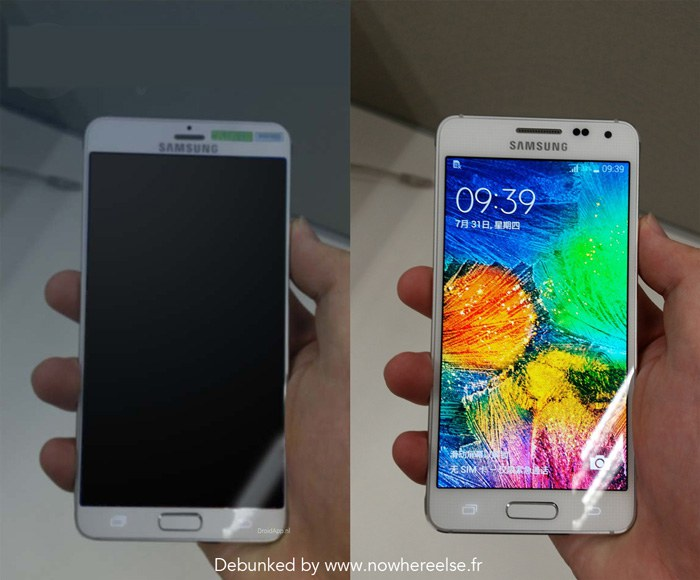 Samsung Galaxy S6 fake