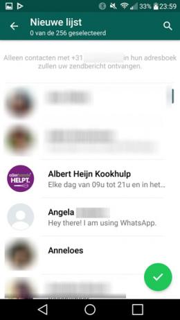 WhatsApp nieuwjaarswensen