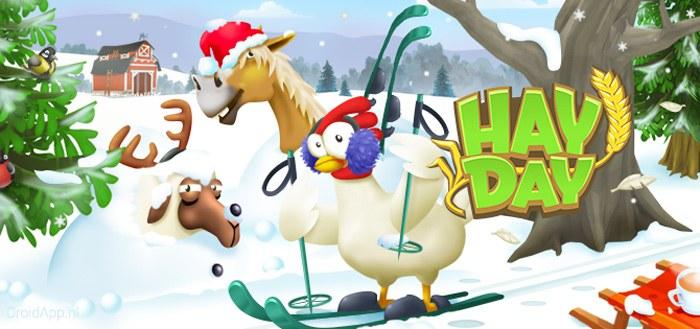 Hay Day krijgt grote winter update