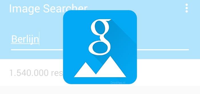 Image Searcher: Google Afbeeldingen geïntegreerd in apps (review)