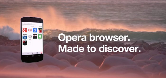 Opera-browser 29: real-time tabbladen synchronisatie