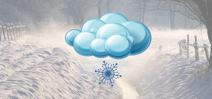 Sneeuwradar voor Android krijgt update met sneeuwverwachting